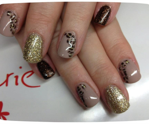 fashion, girl, and gel nails image
