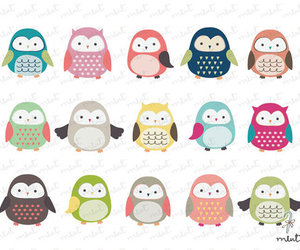 owl, cute, and illustration image