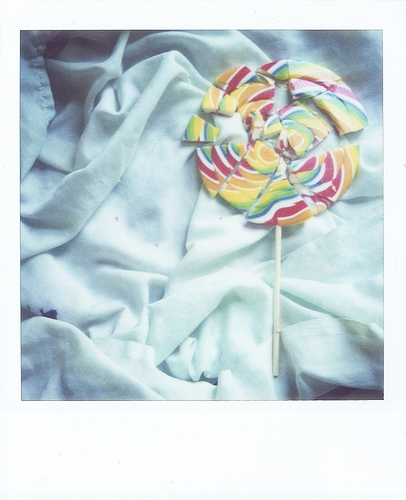 broken, candy, and toothache image