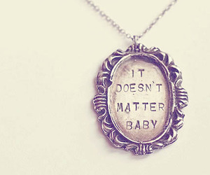 necklace, baby, and vintage image