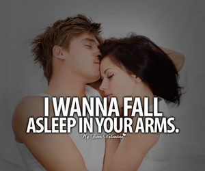 love, arms, and quote image