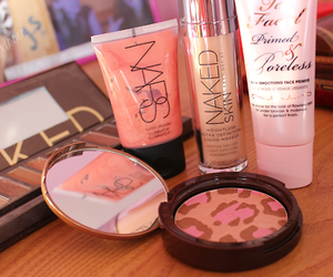 blush, chic, and face image