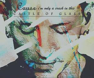 linkin park, chester bennington, and castle of glass image