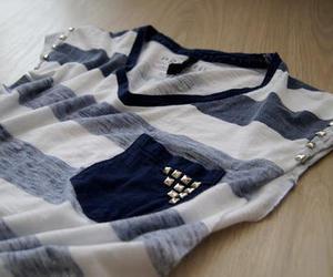 fashion, shirt, and blue image