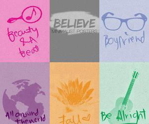 believe, fall, and be alright image