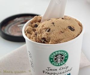 starbucks, ice cream, and food image