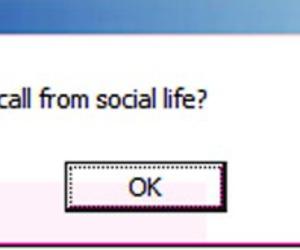 computer, ok, and social image