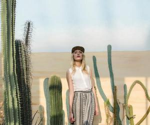 blond, cactus, and skirt image