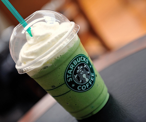 starbucks, coffee, and green image