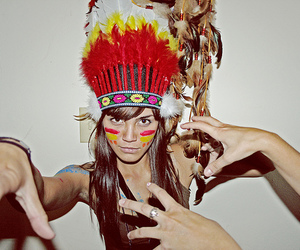girl, indian, and cultural appropriation image