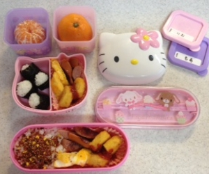 bento, hello kitty, and thing image