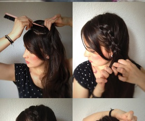 braid, diy, and fashion image