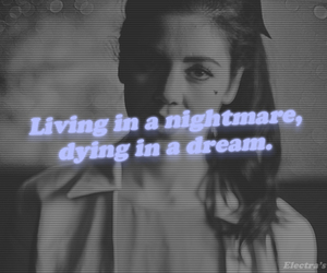 Dream, marina and the diamonds, and nightmare image