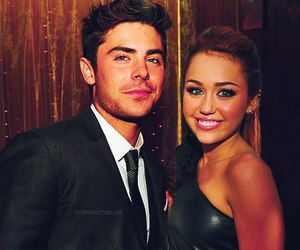 miley cyrus, miley, and zac efron image