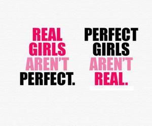 girls, perfect, and real image