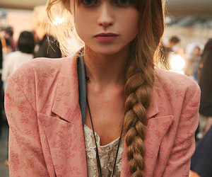 Abbey Lee Kershaw, pink, and fashion image