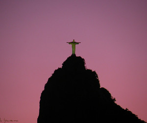 brazil, cristo redentor, and corcovado image