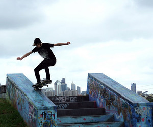 city, skate, and grind image