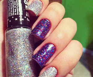 beautiful, nails, and colors image
