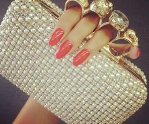 nails, fashion, and bag image