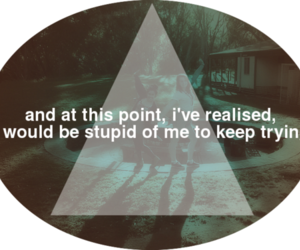 triangle, triangles, and words image