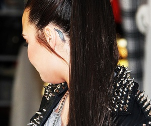 demi lovato, tattoo, and demi image