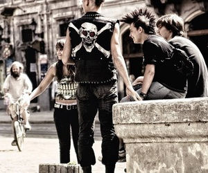punk, boy, and skull image