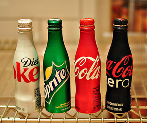 drink, sprite, and coca cola image