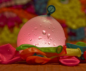 balloons, water, and fun image