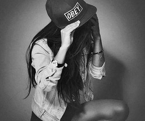 girl, obey, and swag image