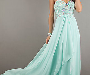 mint, love, and dress image