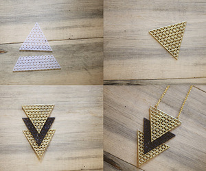 diy, ideas, and triangles image