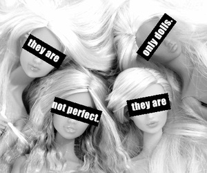 doll, perfect, and barbie image