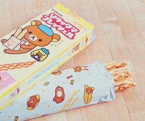 rilakkuma, cute, and food image