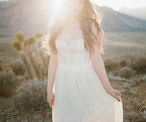 bride, dress, and girl stuff image
