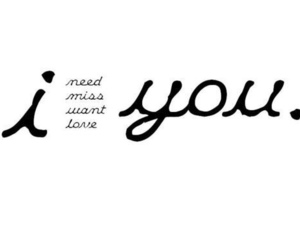 love, you, and need image