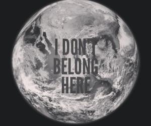 earth, quote, and alone image