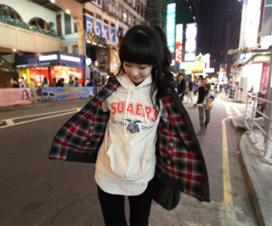 cute, girl, and fashion image