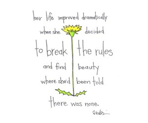 quote, beauty, and flower image