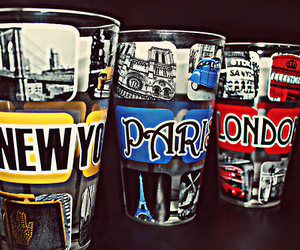 cups, london, and paris image