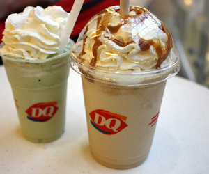 Dairy Queen, food, and ice cream image