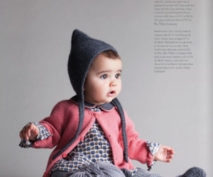 baby, clothes, and hat image