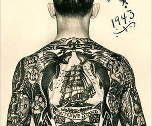 tattoo and 1943 image