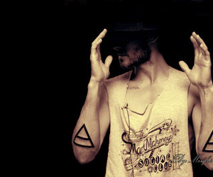 jared leto, tattoo, and 30 seconds to mars image