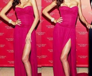 miranda kerr, dress, and Victoria's Secret image