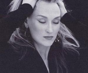 meryl streep, actress, and woman image