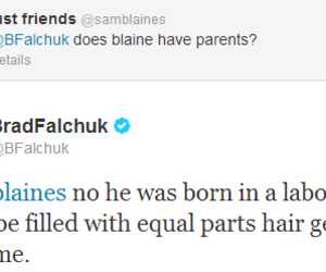 crying, glee, and blaine anderson image