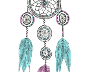 colorful, colourful, and dream catcher image