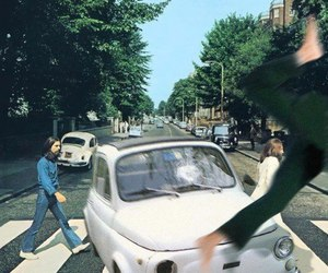 the beatles, beatles, and car image