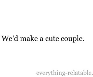 couple, cute couple, and quote image